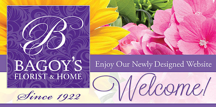 Welcome to Bagoy's online showroom. Don't forget with every purchase you earn petal points!